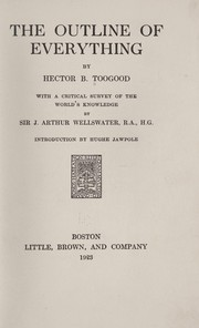 Cover of: The outline of everything | Hector B. Toogood