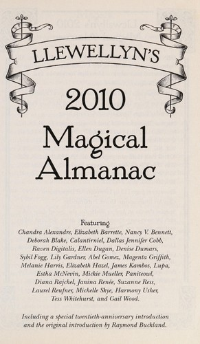 2010 Magical Almanac by Llewellyn