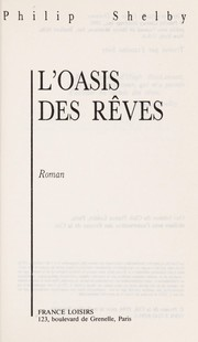 Cover of: L'oasis des reves