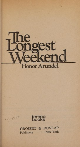 Longest Weekend by Arundel                      H