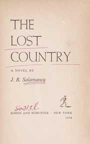 Cover of: The lost country