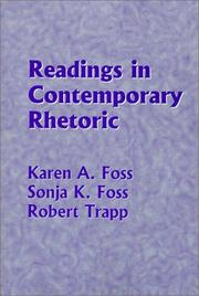 Cover of: Readings in contemporary rhetoric |