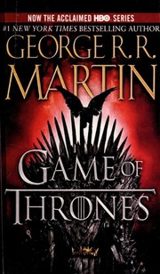 Cover of: A Game of Thrones
