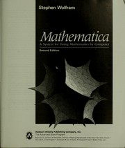 Cover of: Mathematica : a system for doing mathematics by computer