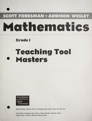 Cover of: Scott Foresman-Addison Wesley MATHEMATICS |