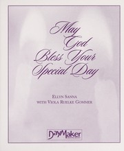 Cover of: May God Bless Your Special Day | Ellyn Sanna