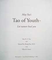 Cover of: May Yue's tao of youth