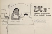 Cover of: Middle of the Night Baby Book | Nancy Belbas, Julienne Smerlinder, Mary Kay Stranik