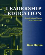 Cover of: Leadership in Education | Russ Marion