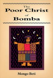 Cover of: The Poor Christ of Bomba | Mongo Beti