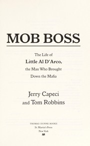 Cover of: Mob boss | Jerry Capeci