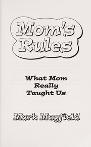 Cover of: Mom's Rules |