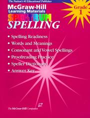 Cover of: Spelling | Sra