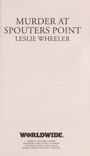 Cover of: Murder at Spouters Point | Wheeler, Leslie