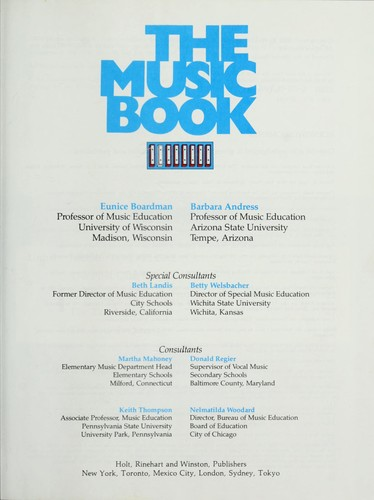 The Music Book by