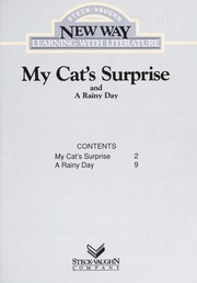 Cover of: My Cats Surprise-Blue RR (New Way: Learning with Literature (Blue Level)) | Bailey.