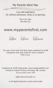 Cover of: My parents went Mac! | Louise Latremouille