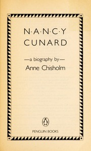 Cover of: Nancy Cunard | Anne Chisholm