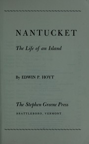 Cover of: Nantucket