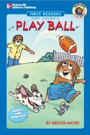 Cover of: Play ball