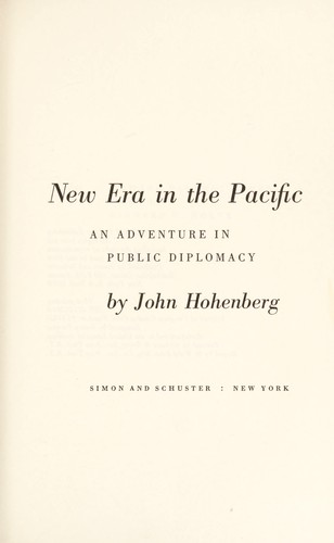 New era in the Pacific by John Hohenberg