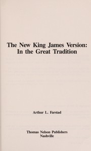 Cover of: The New King James Version | Arthur L. Farstad