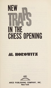 Cover of: New traps in the chess openings