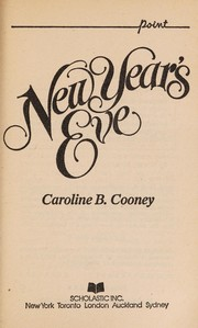 Cover of: New Year's Eve