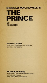 Cover of: Niccolo Machiavelli's The prince and the discourses