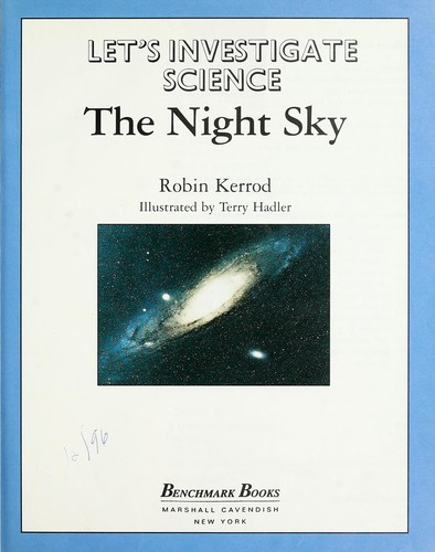 The night sky by Robin Kerrod