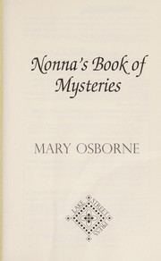 Cover of: Nonna's book of mysteries | Mary A. Osborne