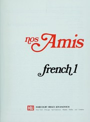 Cover of: nos Amis French 1 |