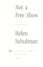 Cover of: Not a free show