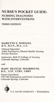 Cover of: Nurse