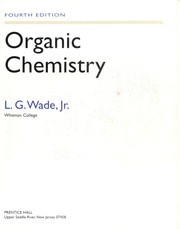 Cover of: Organic chemistry | Leroy G. Wade