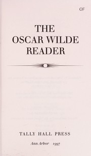 Cover of: The Oscar Wilde reader | Oscar Wilde