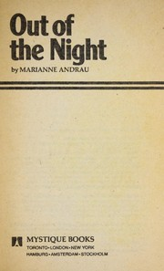 Cover of: Out of the Night (Mystique Books, 107) |