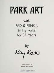 Cover of: Park Art