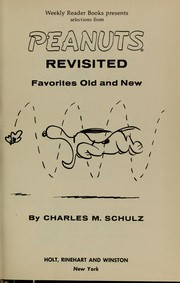 Cover of: Peanuts revisited | Charles M. Schulz