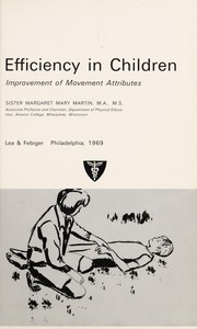 Cover of: Perceptual-motor efficiency in children | Bryant J. Cratty