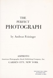 Cover of: The perfect photograph