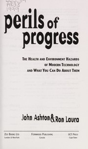 Cover of: Perils of progress | Ashton, John