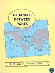 Cover of: PUB151 Table of Distances Between Ports | N.I.M.A.