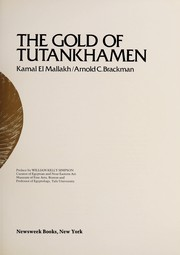 "Cover of: The gold of Tutankhamen | KamaМ""l al-MallaМ""kh"
