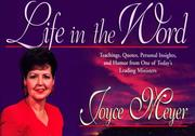 Cover of: Life in the Word: A Journal