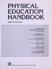 Cover of: Physical education handbook | Don Cash Seaton ... [et al.].
