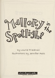 Cover of: Mallory in the spotlight