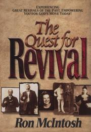 Cover of: The quest for revival