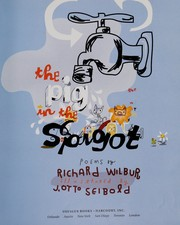 Cover of: The Pig in the Spigot: poems