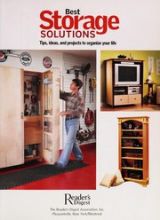 Cover of: Best storage solutions |
